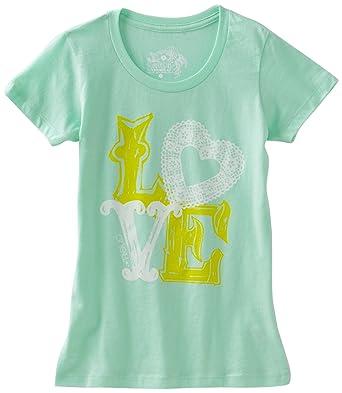3b6498fef2947 Amazon.com: O'Neill Big Girls' Lots Of Love Crew Neck Tee: Fashion T ...