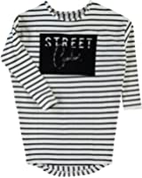 Name it Mädchen Jersey Oversize-Kleid langarm Nitkarina