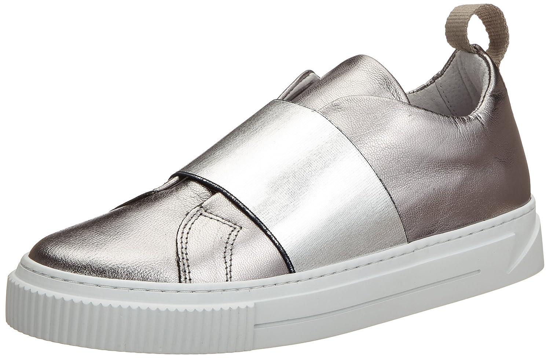 Pieces Psdione Leather Sneaker, Zapatillas para Mujer
