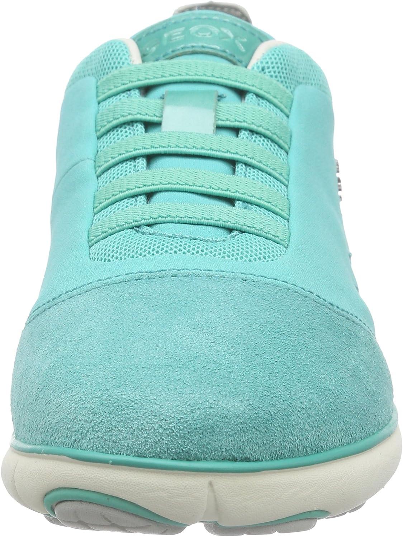 Geox Nebula C Women Low-Top Sneakers Turquoise (Waterseac3003)