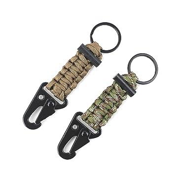 DETUCK® Llavero Paracord Survival Kit Gerber Llavero ...