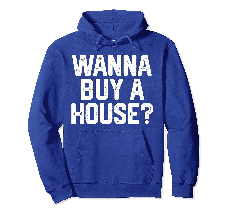 Men/'s Funny Hoodie NEW RARE got real estate?