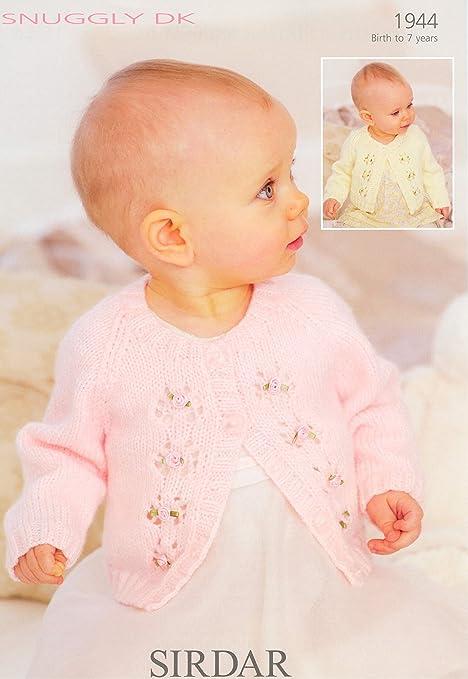 Sirdar Snuggly DK Baby Knitting Pattern 1944: Amazon.co.uk: Kitchen ...