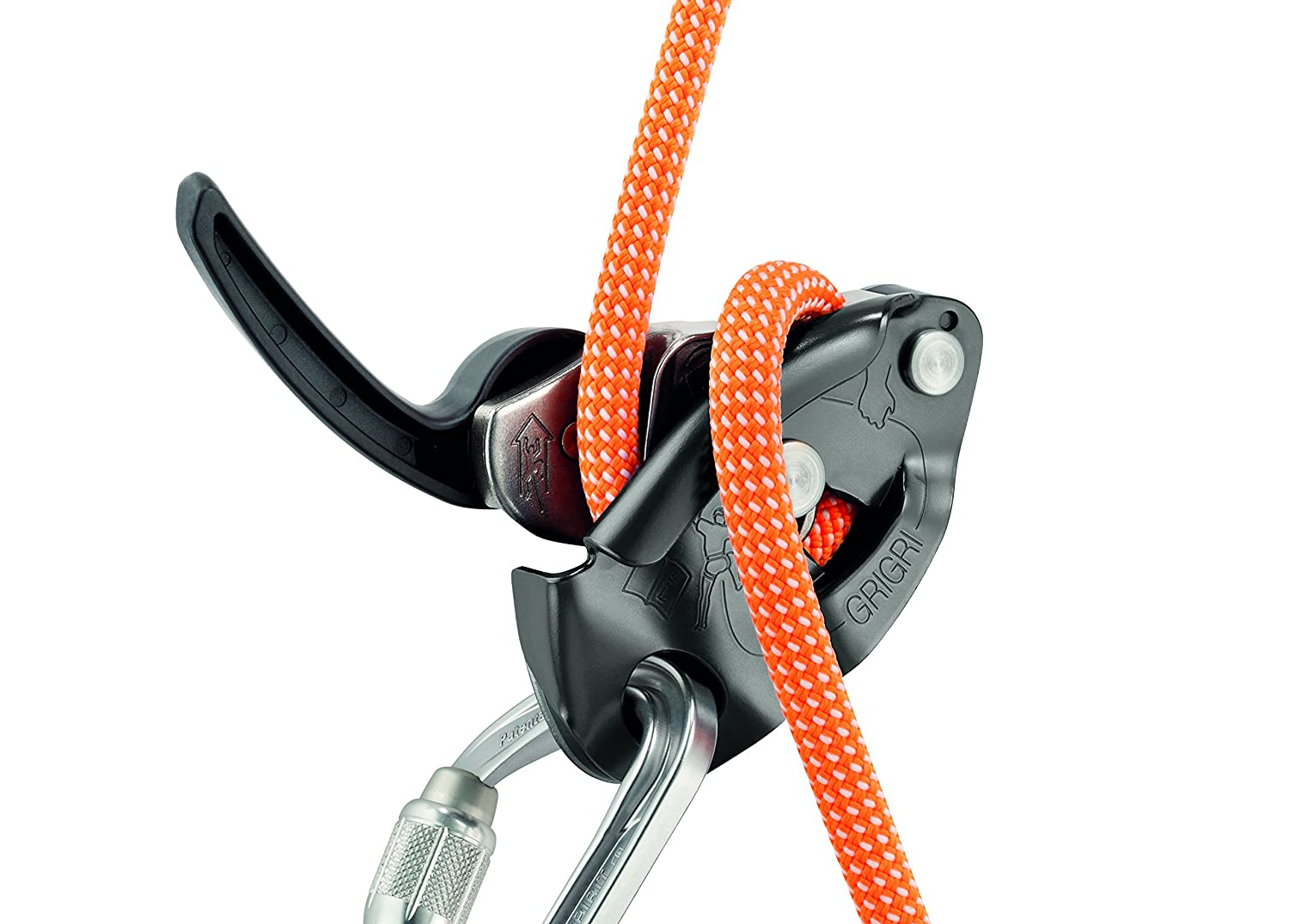 Petzl Grigri Plus Belay Device | Outdoor 2016 - YouTube