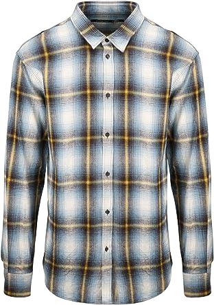 DSQUARED2 Camisa Franela De Cuadros S71DM0324S52230 Color Azul: Amazon.es: Ropa y accesorios