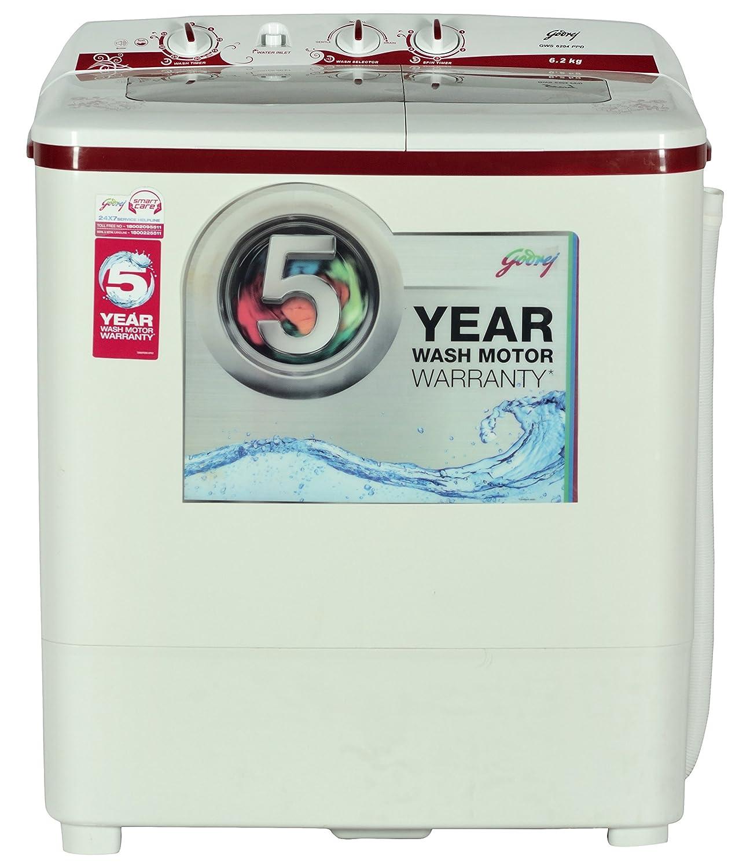 Godrej 62 Kg Semi Automatic Top Loading Washing Machine Gws 6204 Twin Tub Wiring Diagram Ppd Wine Red Home Kitchen