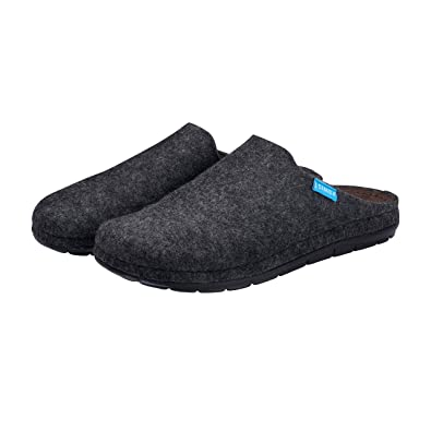2ea0b5142 Simba Natural Wool House Slippers for Men with Massage Pressure Points -  Soft Latex Inner Sole