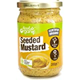 Absolute Organic Seeded Mustard, 200g