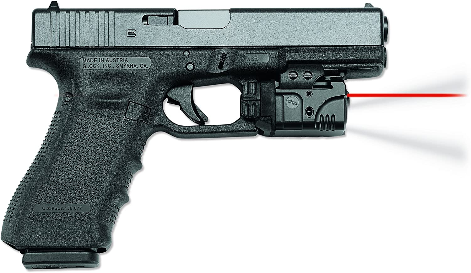 Crimson Trace CMR-204 CMR-205 Rail Master Pro Universal Laser Tactical Light