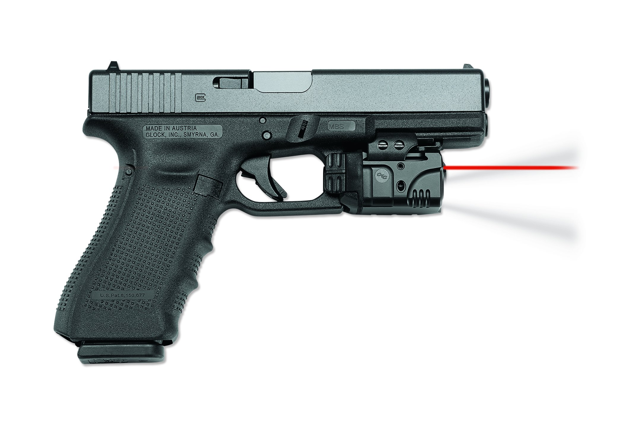 Crimson Trace CMR-205 Rail Master Pro Universal Red Laser Sight + Tactical Light by Crimson Trace (Image #3)