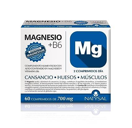 NATYSAL - MAGNESIO VIT B6 60comp NATYSAL