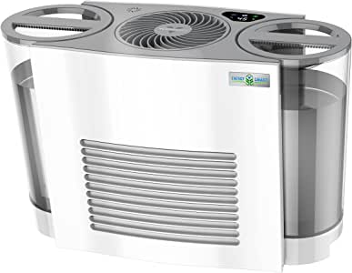 Vornado EVDC500 Energy Smart Evaporative Humidifier with Automatic Shut-off, 2 Gallon Capacity, LED Display