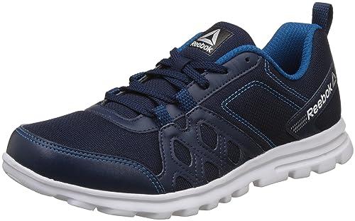 9dfd80fe1f68f Reebok Men s Run Fusion Lp Coll Navy Cycle Blue Mets Running Shoes ...