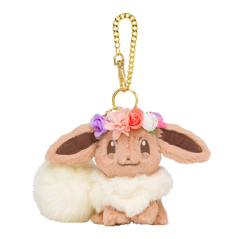 Pokemon Center Original Charm Mascot Eevee Évoli Evoli Eievui's Easter 10cm