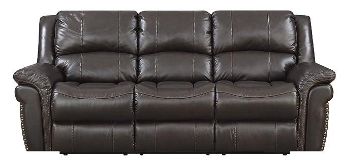 Amazon.com: MorriSofa William Reclining Sofa, 88