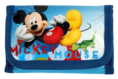 Monedero Cartera Mickey Mouse Disney