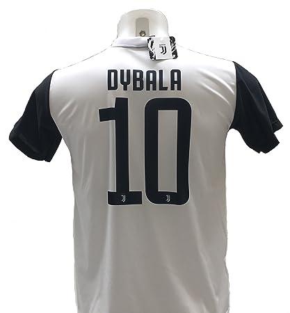 Camiseta de fútbol Paulo Dybala 10, la joya de la Juventus, réplica autorizada 2017
