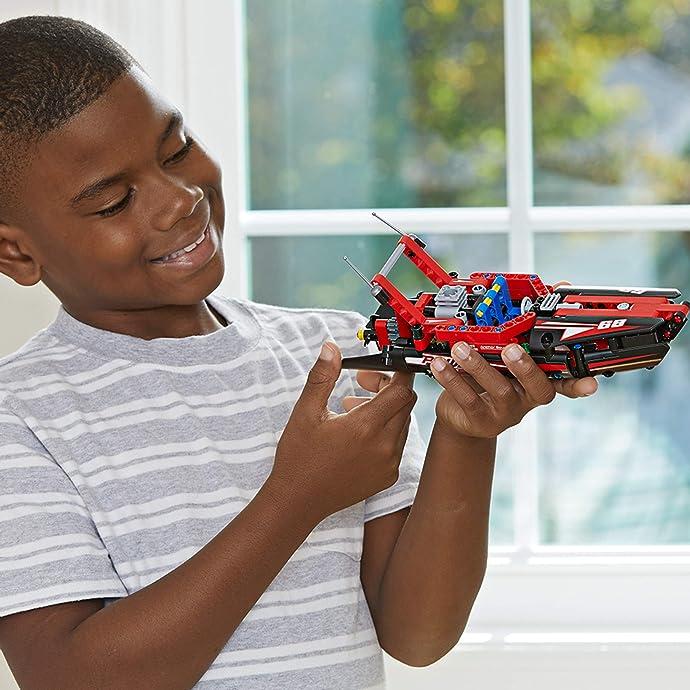 LEGO 乐高 19年新款 42089 机械组 Technic 快艇积木玩具 6.7折$9.99史低 海淘转运到手约¥84