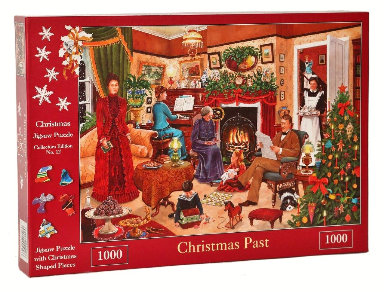 1000 Piece Jigsaw Puzzle - 2017 Christmas Collector\'s Edition No. 12 ...