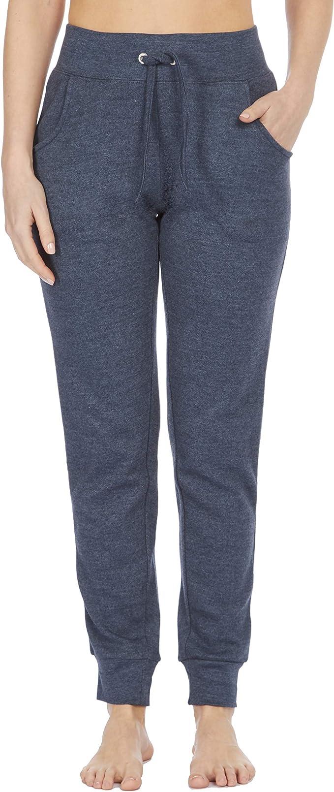 Cottonique - Pantalones de chándal de algodón para mujer ...