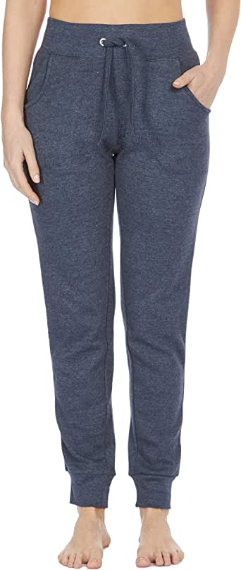 COTTONIQUE - Pantalones de chándal de algodón para Mujer: Amazon ...