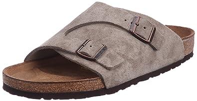 Birkenstock Women´s Z�rich Taupe Suede Sandals 36 EU (L5 US)