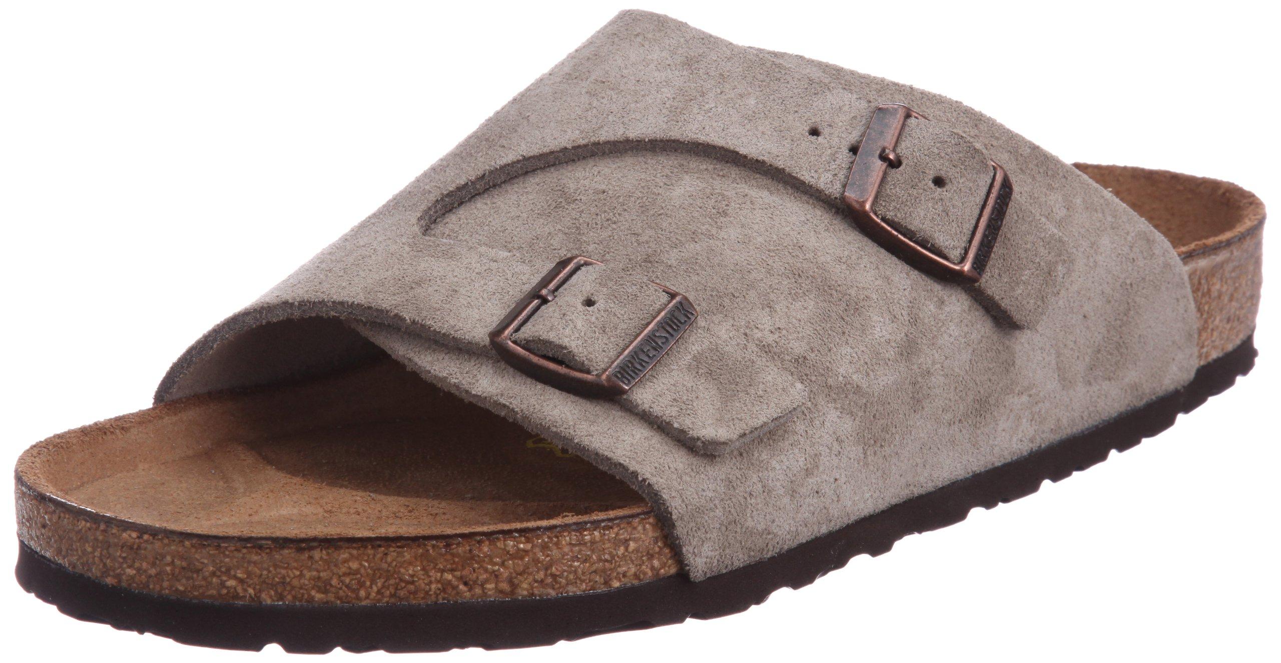 Birkenstock Men's Zurich Sandals,Brown,38 EU (5-5.5 N US Men / 7-7.5 N US Women)