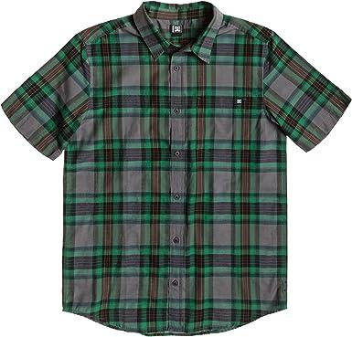 DC Shoes Shirt & Hemd Arcade Short Sleeve M Wvtp Camisa, Hombre: Amazon.es: Ropa y accesorios