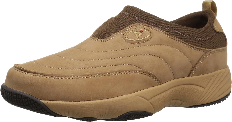 Propét Women's W3851 Wash & Wear Slip-on Ii Slip Resistant Sneaker Walking Shoe