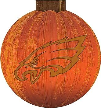 Team Color 12 inch Halloween Pumpkin Sign Fan Creations NFL Philadelphia Eagles Unisex Philadelphia Eagles 12 in