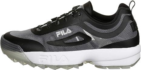 Fila Disruptor Run Zapatillas negras para hombre 1010910-25Y: Amazon.es: Ropa y accesorios