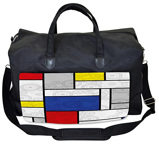 Amazon.com: Lunarable - Bolsa de gimnasio retro inspirada en ...