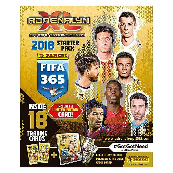 Adrenalyn XL fifa365apg 2018 Premium Pack Juego de Cartas ...