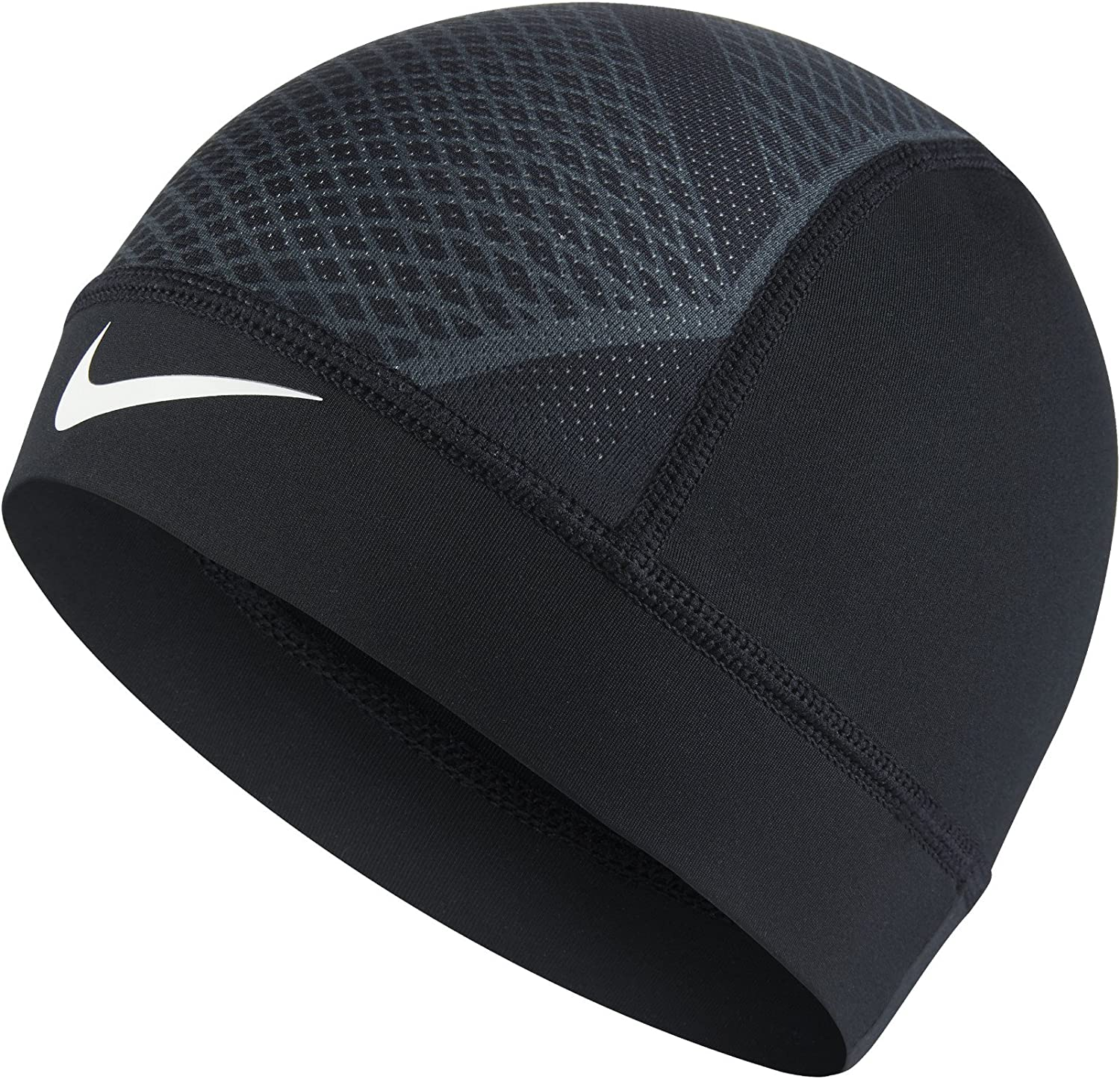 The Nike Pro Hypercool Vapor 4.0 Skull Cap is made with sweat-wicking stretch fabric and mesh panels to help keep you dry and cool.: Clothing
