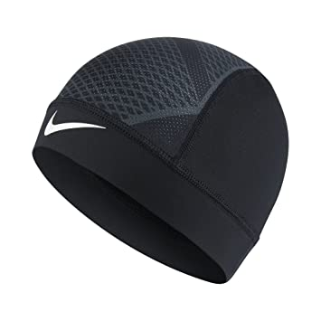 a163e1fafb2 The Nike Pro Hypercool Vapor 4.0 Skull Cap is made with sweat-wicking  stretch fabric