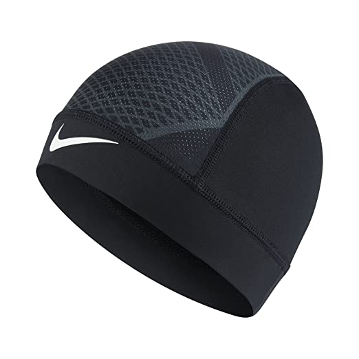 Amazon.com  The Nike Pro Hypercool Vapor 4.0 Skull Cap is made with  sweat-wicking stretch fabric and mesh panels to help keep you dry and cool. 439e32063666