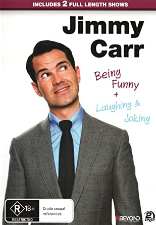 Amazon Com Jimmy Carr Being Funny And Laughing And Joking Non Usa