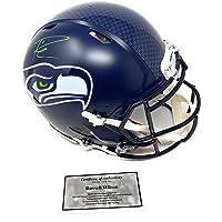 $429 » Russell Wilson Seattle Seahawks Signed Autograph Full Size Speed Authentic Proline Helmet RWilson Certified