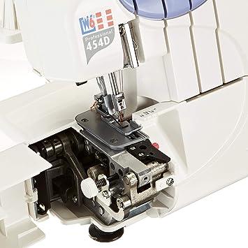 W6 N454D - Máquina de Coser overlock (10 años de garantía): Amazon ...