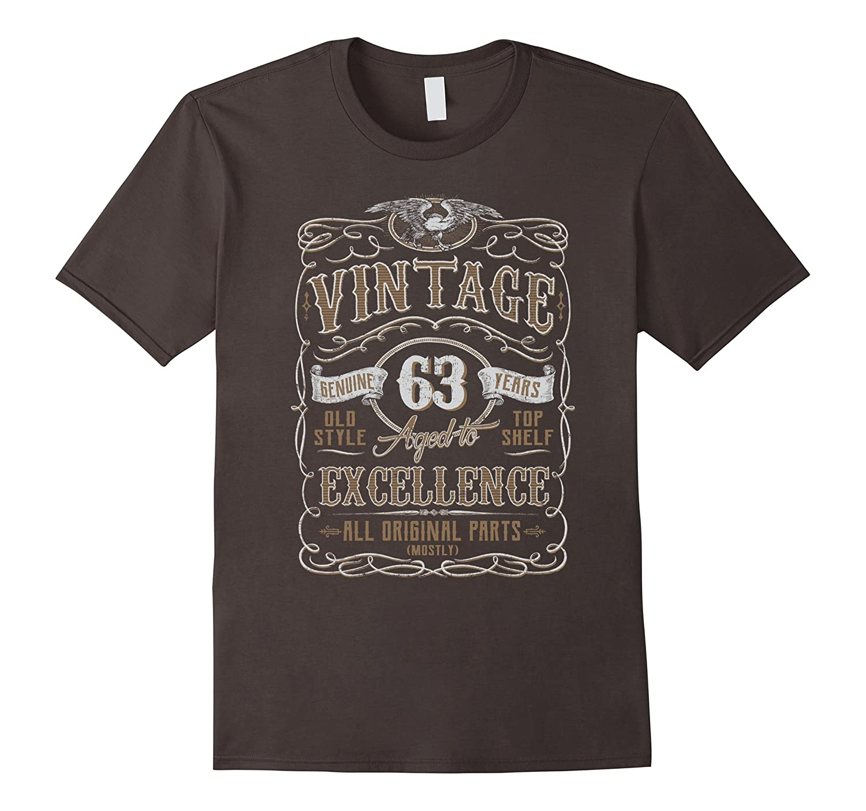 Vintage 63rd Birthday Gift Idea T Shirt-TH