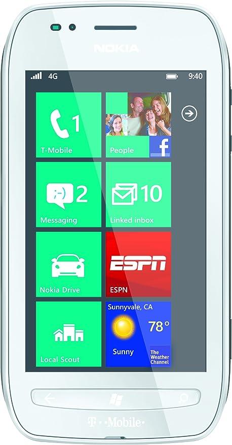 Nokia Lumia 710 8GB Color blanco: Amazon.es: Electrónica