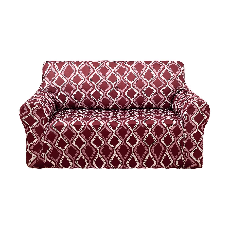 Amazing Details About Deconovo Trellis Print Sofa Slipcover Spandex Stretch Strapless Sofa Cover For Machost Co Dining Chair Design Ideas Machostcouk