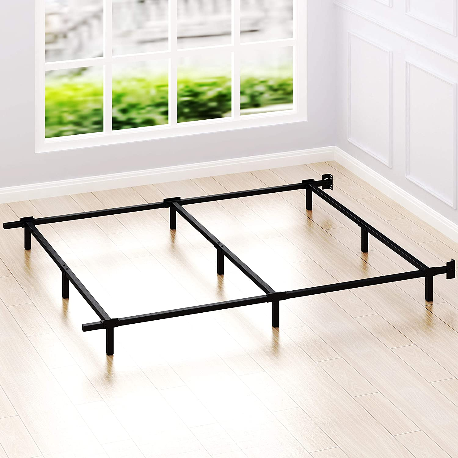 Simple Houseware Stable Bed Frame, Queen
