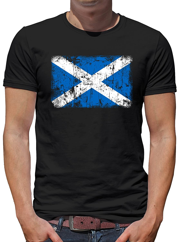 33e8bb2a533 durable modeling Touchlines Merchandise TLM Escocia Vintage Bandera T-Shirt  Camiseta Para Hombre
