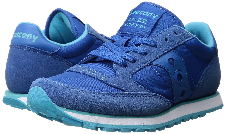 Saucony Originals Women's Jazz Low Pro Sneaker B01GJGLEJY 7.5 B(M) US|Blue