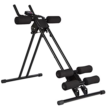 Ultrasport Aparato de abdominales Ultra 150 - Power AB Trainer, aparato de fitness para el
