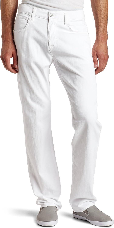 HUDSON Mens Byron Straight-Leg Jean in White