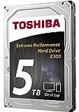 Toshiba X300 Desktop 3.5 Inch SATA 6Gb/s 7200rpm Internal Hard Drive 5 TB