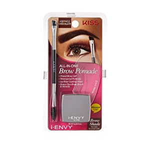 I Envy by Kiss All-In-One Brow Pomade - KBPM02 Chocolate