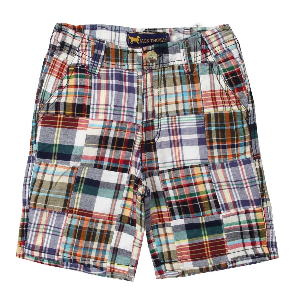 Wes and Willy Patchwork Short